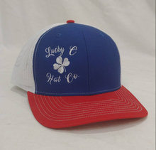 Load image into Gallery viewer, Lucky C Hat Co new logo cap, snapback trucker hat