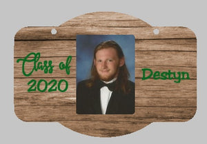 Senior 2020 Wall or Door Hanger Rounded Rectangle