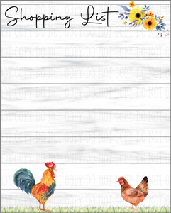 Farm Themed Kitchen Dry Erase Boards