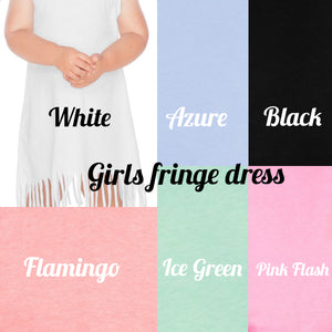 Hair Bands Classic Rock Infant/Toddler Fringe Dress or Top