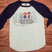 Load image into Gallery viewer, Frozen Crew Raglan