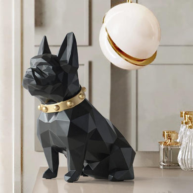 Dog Statue Home Decor Crafts Animal Sculpture - LeisureField