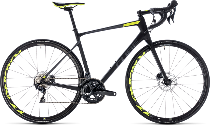 Cube Attain GTC SLT Disc Ultegra Road 22 Speed 2018 Men