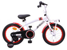 Load image into Gallery viewer, AMIGO 2Cool 14 Inch 23 cm Boys Coaster Brake White
