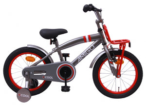 AMIGO 2Cool 16 Inch 25,5 cm Boys Coaster Brake Grey