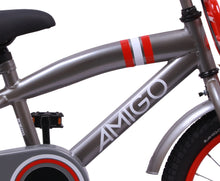 Load image into Gallery viewer, AMIGO 2Cool 16 Inch 25,5 cm Boys Coaster Brake Grey
