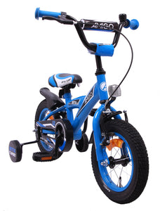 AMIGO BMX Turbo 12 Inch 19 cm Boys Coaster Brake Blue