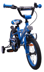 AMIGO BMX Turbo 14 Inch 21 cm Boys Coaster Brake Blue