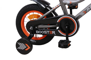 AMIGO Booster 12 Inch 20 cm Boys Coaster Brake Grey