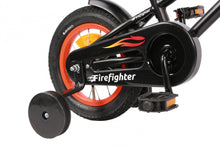 Load image into Gallery viewer, AMIGO Firefighter 12 Inch 17 cm Boys Coaster Brake Matte black