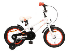 Load image into Gallery viewer, AMIGO Firefighter 14 Inch 18 cm Boys Coaster Brake White