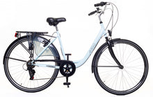 Load image into Gallery viewer, AMIGO Style 28 Inch 49 cm Women 6SP Rim Brakes Matte blue
