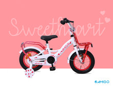 Load image into Gallery viewer, AMIGO Sweetheart 12 Inch 21 cm Girls Coaster Brake White