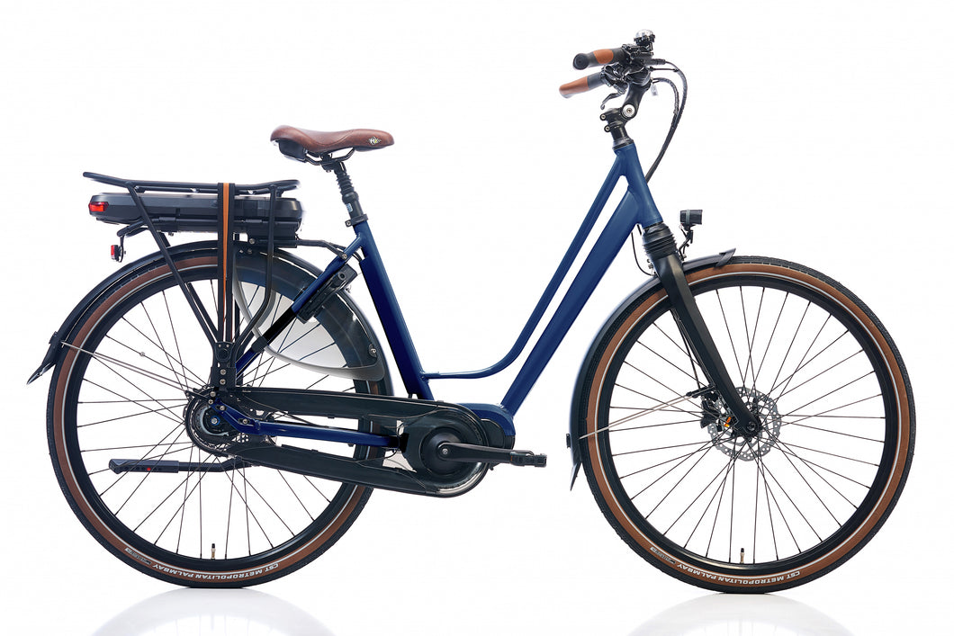 Kohlman Deluxe 28 Inch 52 cm Women 8SP Hydraulic Disc Brake Dark Blue