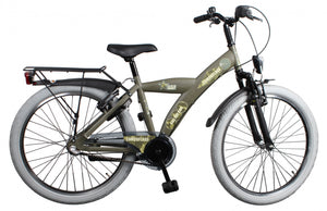Bike Fun Camouflage 20 Inch 33 cm Boys 3SP Coaster Brake Army Green