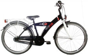 Bike Fun City 24 Inch 36 cm Boys Rim Brakes Black