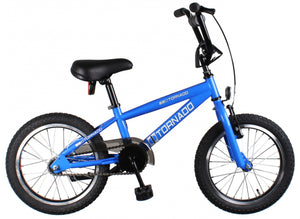 Bike Fun Cross Tornado 16 Inch 34 cm Junior Coaster Brake Blue