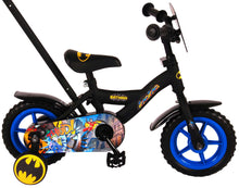 Load image into Gallery viewer, DC Comics Children's Bike Batman 10 Inch 18 cm Boys Fixed Gear Black
