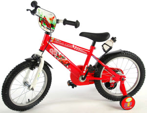 Disney Cars Boys Bike 16 Inch 25,4 cm Boys Caliper Red