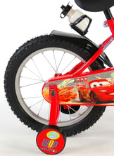 Load image into Gallery viewer, Disney Cars Boys Bike 16 Inch 25,4 cm Boys Caliper Red