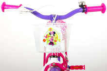Load image into Gallery viewer, Disney Minnie Bow-Tique 12 Inch 21,5 cm Girls Coaster Brake Pink/Purple