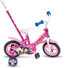 Load image into Gallery viewer, Disney Minnie Mouse 10 Inch 18 cm Girls Fixed Gear Pink