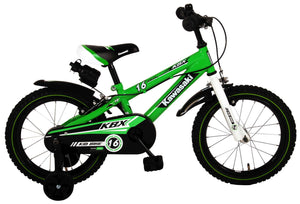Kawasaki Children's Bike 16 Inch 25,4 cm Boys Caliper Green