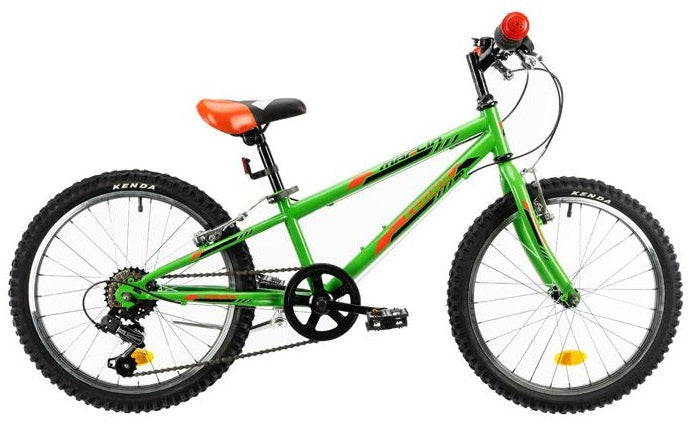 Marlin Cedric 20 Inch 24 cm Boys 6SP Rim Brakes Green