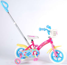 Load image into Gallery viewer, Nickelodeon Push Bike 10 Inch 18 cm Girls Fixed Gear Pink