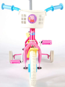 Nickelodeon Push Bike 10 Inch 18 cm Girls Fixed Gear Pink
