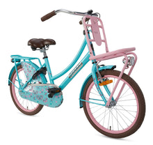 Load image into Gallery viewer, Popal Daily Dutch Basic 20 Inch 32 cm Girls Rim Brakes Turquoise/Pink