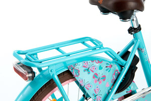 Popal Daily Dutch Basic 20 Inch 32 cm Girls Rim Brakes Turquoise/Pink
