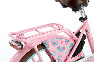 Popal Daily Dutch Basic 20 Inch 32 cm Girls Rim Brakes Pink/Light blue