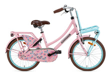 Load image into Gallery viewer, Popal Daily Dutch Basic 20 Inch 32 cm Girls Rim Brakes Pink/Light blue