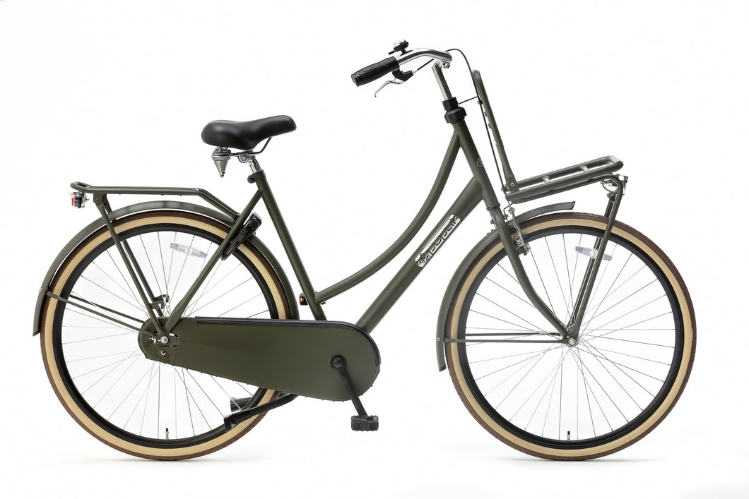 Popal Daily Dutch Basic 28 Inch 50 cm Women Coaster Brake Army Green