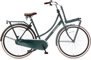 Popal Daily Dutch Basic 28 Inch 57 cm Women Coaster Brake Dark Green