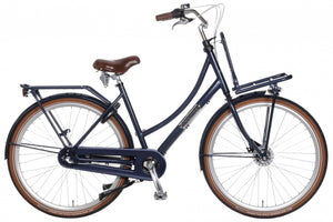 Popal Daily Dutch Prestige N3 RB 28 Inch 57 cm Woman 3SP Roller brakes Dark Blue