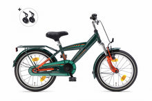 Load image into Gallery viewer, Popal Kicks 16 Inch 22 cm Boys Coaster Brake Green