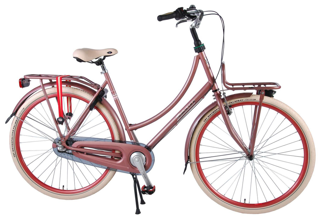Salutoni Excellent 28 Inch 56 cm Women 3SP Coaster Brake Pink