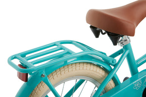 Supersuper Cooper 16 Inch 25,4 cm Girls Coaster Brake Turquoise