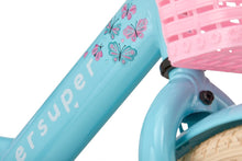 Load image into Gallery viewer, Supersuper Little Miss 16 Inch 25,4 cm Girls Coaster Brake Turquoise