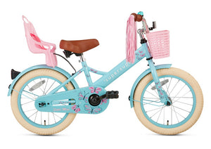 Supersuper Little Miss 16 Inch 25,4 cm Girls Coaster Brake Turquoise
