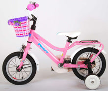 Load image into Gallery viewer, Volare Brilliant 12 Inch 21,5 cm Girls Coaster Brake Pink/White
