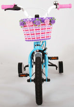 Load image into Gallery viewer, Volare Brilliant 14 Inch 23,5 cm Girls Coaster Brake Blue/White