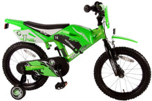 Load image into Gallery viewer, Volare Motobike 16 Inch 25,5 cm Boys Coaster Brake Green