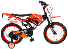 Load image into Gallery viewer, Volare Motorbike 16 Inch 25,4 cm Boys Rim Brakes Black/Red