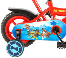Load image into Gallery viewer, Volare Paw Patrol 10 Inch 18 cm Boys Fixed Gear Red