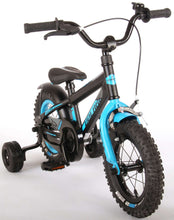 Load image into Gallery viewer, Volare Rocky 12 Inch 20 cm Boys Coaster Brake Black/Light blue