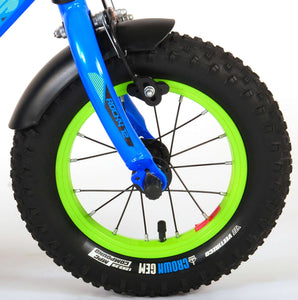 Volare Rocky 12 Inch 21,5 cm Boys Coaster Brake Blue/Green