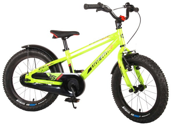Volare Rocky 16 Inch 25,4 cm Boys Coaster Brake Green/Black